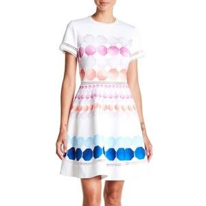 Ted Baker Miley Marina Mosaic Dress